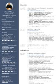 Mechanical Engineer Resume Template Amazing Mechanical Engineer Resume Samples VisualCV Resume Samples Database