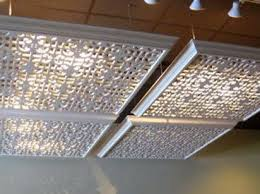 office ceiling light covers. Hide Florescent Lights In Your Home Or Office With These Lattice Covers. | 42 Ingeniously Ceiling Light Covers N