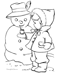 Small Picture 196 best Christmaswinter coloring pages images on Pinterest