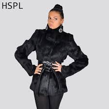 2017 women real fur coat full pelt women rabbit fur coat full length sleeve natural black fur coats women can add hood plus size
