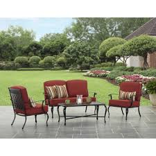 better homes and garden dawn hill 4 piece outdoor conversation set com