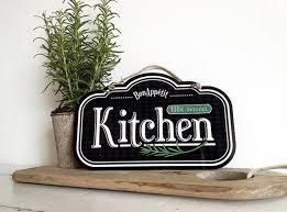 Kitchen Decor Sign
