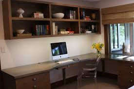 office large size home office desk and l shaped brown wooden under f floating cabinet blonde wood office