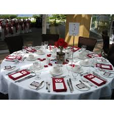 round tablecloth special event white restaurant tablecloth