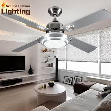 super quiet ceiling fan lights large inches modern ceiling fan lamp living room bedroom dining