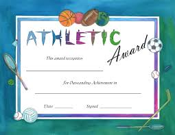 soccer awards templates athletic certificate template best professional templates