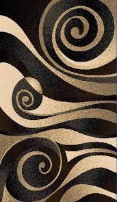 r69s258 sculpture black area rug 6 x 9