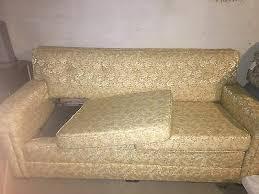 mid century kroehler sleeper sofa
