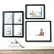 wall picture frames frame set modern collage excellent idea gallery sets mix and match image of ideas white