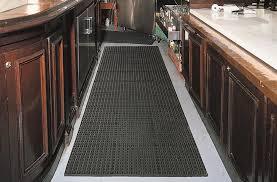 Plain Commercial Kitchen Mats Cushiontred C To Modern Design