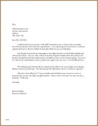 Unsolicited Proposal Template Enchanting Sample Business Offer Letter Kievlive