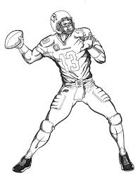 Click the football player coloring pages to view printable version or color it online (compatible with ipad and android tablets). Printable Football Player Coloring Pages Coloringme Com