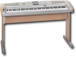 yamaha 88 key keyboard. yamaha - 88-key full-size keyboard with wooden stand 88 key