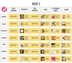 9 Month Baby Weight Gain Food Chart Food Chart Meal Plan 9 Month Old Baby Mylittlemoppet