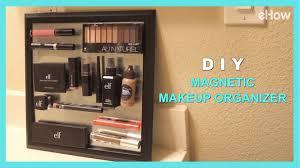 diy magnetic makeup organizer diy irl