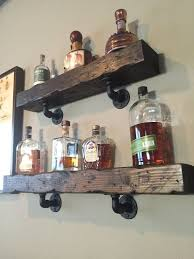 amazing wall mounted bar shelves september 2018