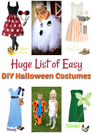 easy diy halloween costumes including disney costumes