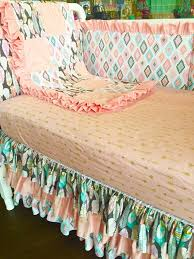 Dream Catcher Crib Bedding Pink And Teal Baby Bedding Palmyralibraryorg 72