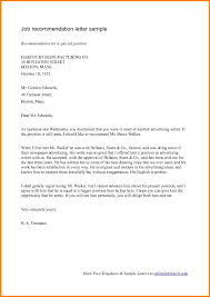 Professional Reference Letter Professional Reference Letter Sample Of Recommendation For Job With 3