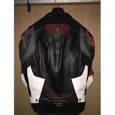 rs taichi vented leather jacket gmx lite sports