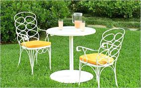 white iron garden furniture. plain garden stone patio design with white iron furniture set in vintage style  wrought dining throughout garden g