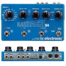 Купить <b>Педаль эффектов T.C. Electronic</b> Flashback X4 Delay ...
