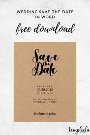 save the date template free download wedding save the date template invitation card free download 15