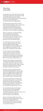athanasia by oscar wilde poemist
