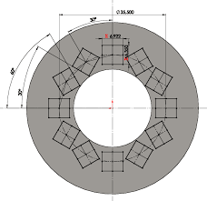 Circular Pattern Solidworks Custom Rotating Instances In A Circular Pattern SOLIDWORKS Forums