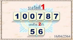 สลากกินแบ่งรัฐบาล เลขเด็ด สำนักงานสลากกินแบ่งรัฐบาล งวด 2 พฤษภาคม 2564