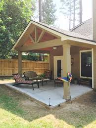covered patio ideas on a budget. Gable Roof Patio Cover With Wood Stained Ceiling Go Covered Ideas On A Budget D