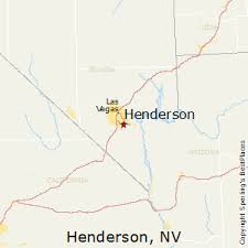 best places to live in henderson nevada henderson nevada map