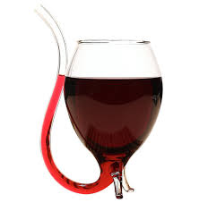 wine glass with straw a sippy cup for s ohgizmo