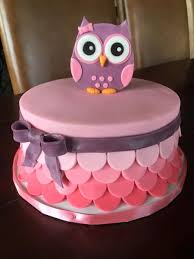 Owl Baby Shower Cake On Cake Central  Cake With Kelly  Pinterest Owl Baby Shower Cakes For A Girl
