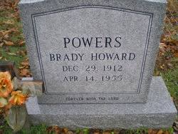 Brady Howard Powers (1912-1955) - Find A Grave Memorial