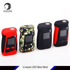 <b>New Original</b> Yosta Livepor 230 Box Mod 230W e cig mod with 1.33 ...