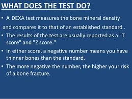 Bmd Z Score Chart Bone Mineral Density Bmd Test
