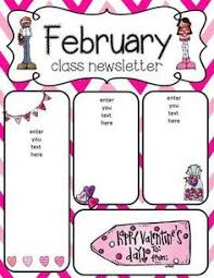 february newsletter template newsletter clipart september newsletter frames illustrations