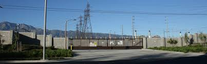 Decorative Security Fencing Power Utility Substation Security Walls Aftec Concrete Fence Forming