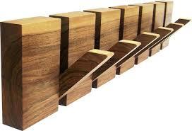 Dark Wood Coat Rack Wood Coat Hooks Rustic White Wood Wall Coat Rack lapservis 44