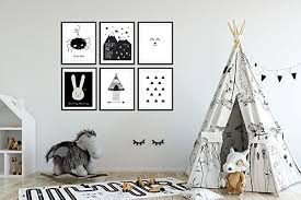 nursery wall art baby room decor children art black and white modern on childrens room wall art with amazon nursery wall art baby room decor children art black