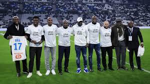 Марсель» в матче с «Бордо» играет с эмблемой, посвященной Африке