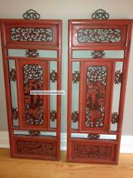 chinese antique carved wooden panel shutter wall art home decor lgw on asian carved wood wall art with chinese antique carved wooden panel shutter wall art home decor lgw