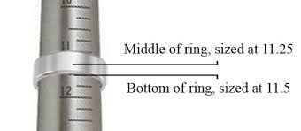 Tungsten Carbide Ring Size Chart Tungsten Carbide Wedding Band Ring Sizing Tips