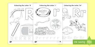 Letter R Coloring Pages Contentparkco