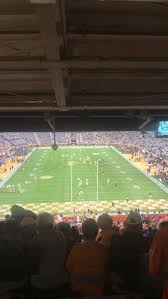 Neyland Stadium Section Y8 Home Of Tennessee Volunteers
