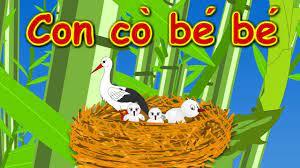 Con cò bé bé - Mẹ yêu không nào   Bài Hát Thiếu Nhi 2019   Nursery Rhymes  Viet Nam - YouTube