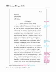 Mla Outline Example Best Of Mla Format Sample Paper With Cover Page