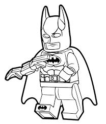 Disegni Da Colorare Di The Lego Batman Migliori Pagine Da Colorare