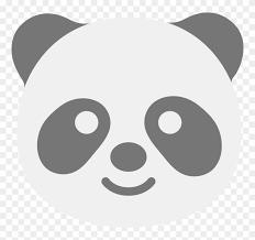 The unicorn emoji first appeared in 2015. File Emoji U1f43c Svg Panda Emoji Coloring Pages Free Transparent Png Clipart Images Download
